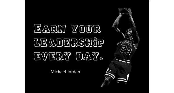 a portrait of Michael Jordan