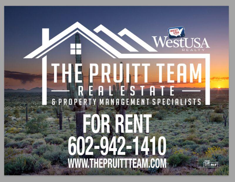 The pruitt team banner
