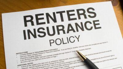 renters insurance form